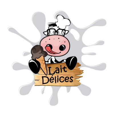 Logo lait delices version 7